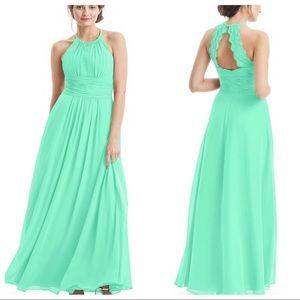 Azazie long dress